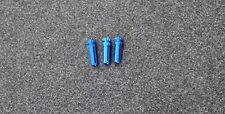Dart Flight Protectors Aluminium Blue - 5 Sets - Free Postage