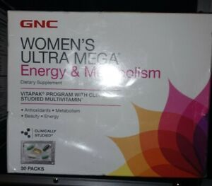 GNC Ultra Mega Multi Vitamin Capsules - 30 Count