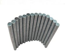 50pcs N38 2X1mm Neodymium Disc Super Strong Rare Earth Small Fridge Magnets
