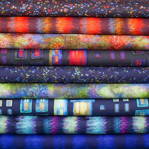 City Lights Patchwork - Serie von Clothworks   Baumwolle Dekostoffe Stoffe