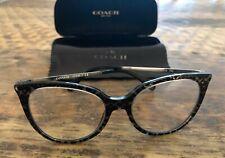 COACH NEW YORK HC6125T 5520 Eyeglasses Frame 53-18-140 Gunmetal Sig C