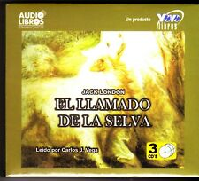 El Llamado de la Selva [The Call of the Wild] (Spanish) 3 Audio CDs - NEW