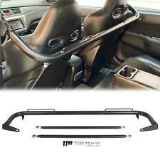 "49"" Stainless Steel Racing Safety Seat Belt Chassis Roll Harness Bar Kit Rod"