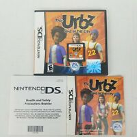 The Urbz: Sims in the City (Nintendo DS, 2004) - with Cartridge, Case, Manual!