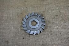 "Good used Brown & Sharpe 4"" x 5/8"" Horizontal Milling Cutter, 1"" Bore"