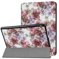 PU Leather Magnetic Folio Flip Cover Slim Case for 9.6'' Huawei Mediapad T3 10.0