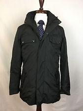 $295 NWT Michael Kors Car Coat Windcheater Jacket, Black, Size Small S