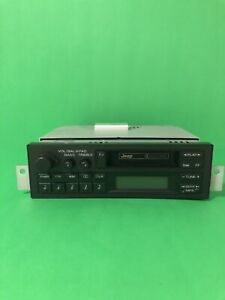 Jeep Cherokee XJ Radio Cassette OEM ***MINT CONDITION*** 1984-1996
