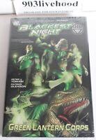 DC COMICS BLACKEST NIGHT - GREEN LANTERN CORPS VOL 1 HC HARDCOVER NEW SEALED OOP