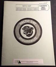 1973 Arctic Cat Snowmobile Ext Parts Manual P/N 0185-029 New (120)