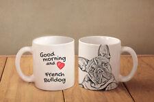 Französische Bulldogge - Keramik Becher Subli Dog DE