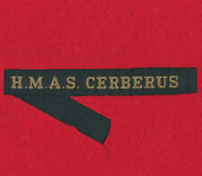 HMAS CERBERUS Tally Band Militaria Patch Patches