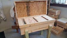 Great Lakes Langstroth Long Bee Hive Beekeeping 30 Frame Horizontal