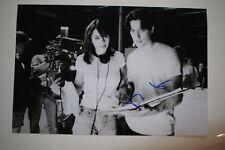 Hugh Grant SIGNED 20x30cm Extreme measures foto autografo/Autograph in persona