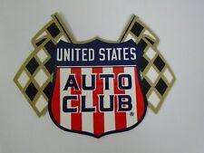 United States Auto Club USAC Shield Decal Sprint Car Midget Racing Indy 500 IMS