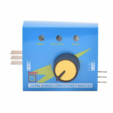 Adjustment Steering Gear Tester CCPM 3-Mode ESC Servo Motor for RC Helicopters