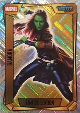 MARVEL MISSION Hero Attax 2017 Limited Edition Card LEMA GAMORA Guardians of the