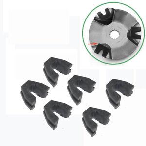 6 Stück Variator Guide Slider Slides für chinesische Roller 49 50 139QMB