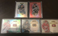 Upper Deck Stature Hockey 2020 Auto Base SP RC Lot Sturm Hague Poehling