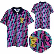 1990 Scotland Away Retro Shirt Men's Football Jersey Fan jersey