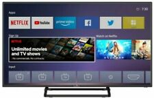 """Smart TV TECH 40"""" LED Completo HD Ready DVB-T2S2 Wifi Internet Android Netflix"""
