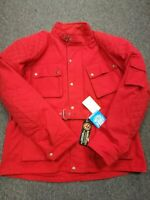 CLEARANCE Mens Motorcycle Cotton Waxed WP CE Armour Waxed Cotton Bikers Jacket