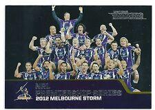 2013 NRL Traders Premiership Series (P13/13) 1999 Melbourne Storm