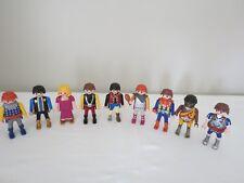 Lot of 9 Playmobil Midevil Castle King Figures