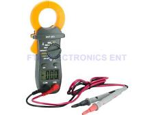 Digital Electronic AC DC Voltage Clamp Meter Multimeter Current Volt Tester Tool