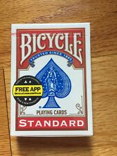 New Sealed Deck of Bicycle Standard Face Poker Playing Cards RED