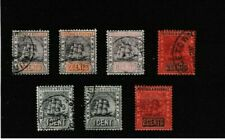 BRITISH GUIANA. SG194,199,235,240,240c,241. etc.  Good Used. Total of 7 Stamps.