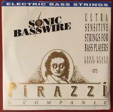 Bass Pirastro Pirazzi E-Guitar Sonic BassWire A 3rd Saite Long Scale Round Wound