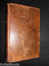 THE SPECTATOR; Volume the Second, 1797 Georgian Leather Binding, Addison/Steele