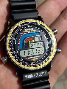 Casio Surfing Timer 933 DW- 403 Rare Vintage Watch Wristwatch NOS Condition