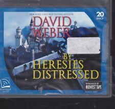~ BY HERESIES DISTRESSED by DAVID WEBER~UNABRIDGED CD AUDIOBOOK