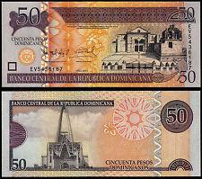 DOMINICAN REPUBLIC 50 PESOS (P183b) 2011 UNC