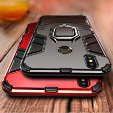 For Xiaomi Pocophone F1 Redmi Note 6 Pro A1 A2 Magnetic Ring Holder Case Cover