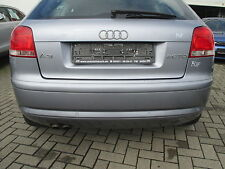 Stoßstange hinten Audin A3 8P 2003-2008 AKOYASILBER LY7H Stoßfänger PDC grau