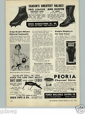 1950 PAPER AD Eddie Pope & Co Hot Shot Super Action Fishing Lure Lures