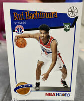 2019-20 Panini NBA Hoops #300 Rui Hachimura RC Tribute Rookie