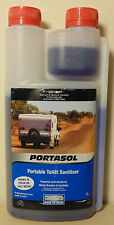 Chemtech Portasol Portable Toilet Sanitiser 1L for 4WD Caravan Camping Boat Bus