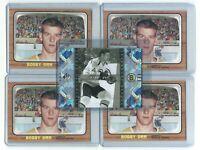 RARE limited BOBBY ORR boston bruins SP LEGENDARY HEROES card # LH2