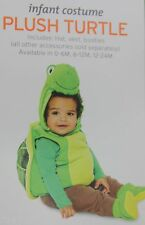 Halloween Infant Plush Green Turtle Costume Size 0-6 months NWT