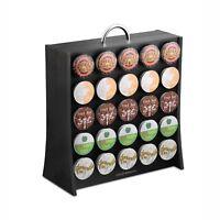 Mind Reader Coffee Pod Storage Rack, Holds 50 K-Cup Coffee Pods, Self Locking...