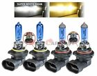 9005 & 9006 Xenon HID Headlight High/Low Beam Halogen Bulbs Combo 5000K White