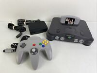Nintendo 64 N64 System Console Bundle NUS-001 w/ Controller + War Zone Game
