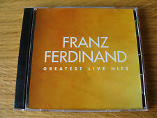 CD Double: Franz Ferdinand : Greatest Live Hits : Limited Edition