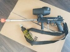 Tippmann A5 A-5 Paintball Marker Gun Semi Automatic w Co2 tank, cyclone hopper