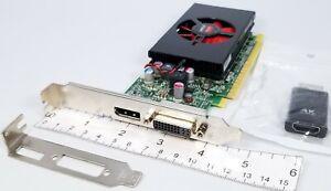 Dell AMD R7 350X 4GB PCIe x16 DVI DisplayPort 4K HDMI Adapter Win 10 Video Card