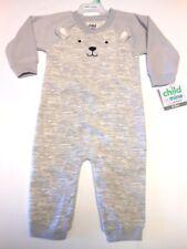 Pajamas Cute & Cuddly Bear Child of Mine Sleepwear One piece Pjs Jumper 6-9 Mos